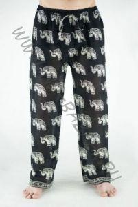 Прямые мужские индийские штаны со слонами (СПб)
