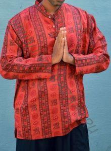 Индийские мужские рубашки с омчиками (Москва)