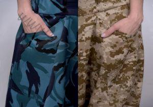 Синие камуфляжные афгани на рост 165-175, демисезон (Москва)