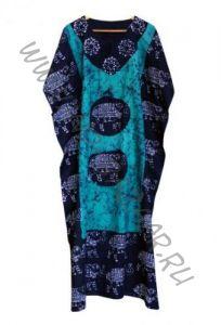 Безразмерное платье голубого цвета (СПб)