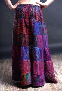 Длинная теплая юбка, разные цвета (Москва)