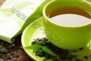 Свежий зелёный чай из Индии